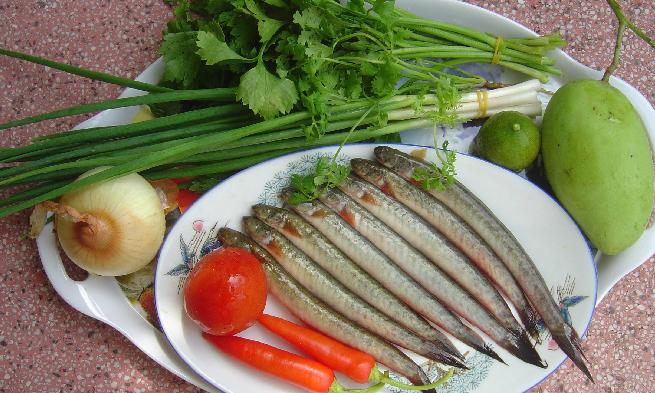 Cá kèo, đặc sản Cà Mau