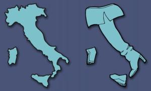 Châu Âu với góc nhìn hài hước trên bản đồ