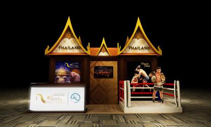 Thái Lan tái hiện huyền thoại Muay Thái tại Hà Nội
