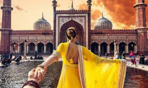 Vẻ đẹp Ấn Độ qua bộ ảnh 'Nắm tay em đi khắp thế gian'