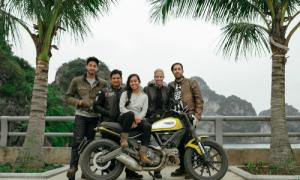 21 ngày xuyên Việt bằng xe máy của phượt thủ Mỹ