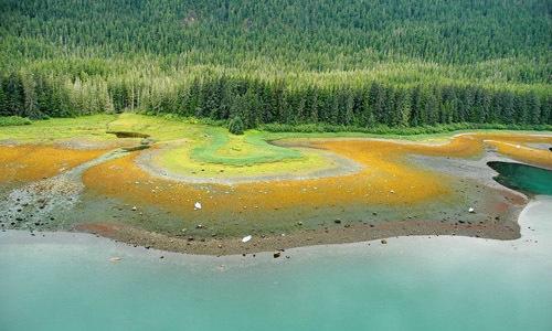 Những bờ biển như có ma thuật ở Alaska