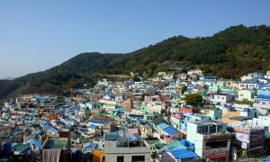 Khu ổ chuột thành 'Santorini xứ Hàn'