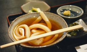 Tô mì một sợi độc đáo ở Nhật Bản