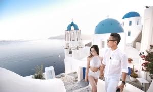 Chuyến đi đầy sắc trắng tới Santorini của nhiếp ảnh gia Việt