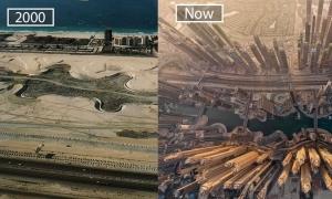 Ngày ấy - bây giờ của các thành phố du lịch nổi tiếng thế giới