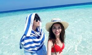Quang Hùng - Quỳnh Châu hâm nóng tình cảm ở Maldives
