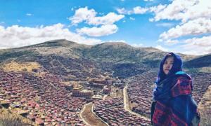 Cô gái Việt thu hết can đảm xem tục thiên táng của người Tạng
