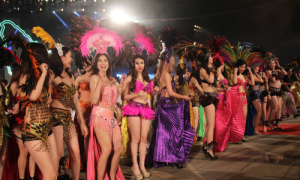 Năm du lịch quốc gia 2018 mở màn với đêm Carnaval rực rỡ