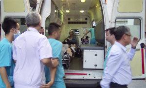 Thi thể ba du khách trong vụ đánh bom ở Ai Cập về đến Việt Nam