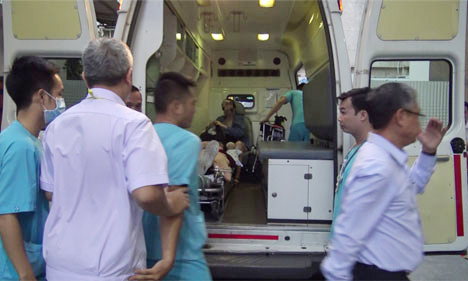 3 du khách cuối trong vụ đánh bom ở Ai Cập về Việt Nam vào ngày 10/1