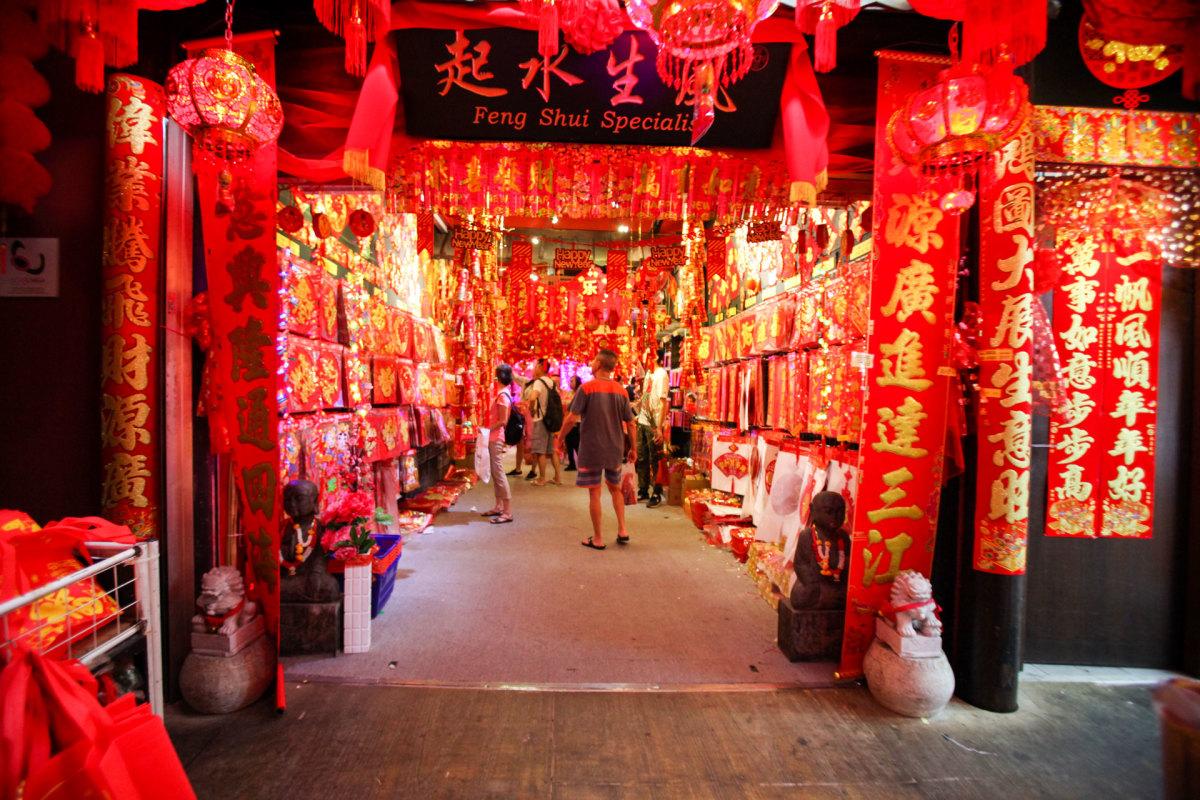 Phố người Hoa ở Singapore rực rỡ sắc màu trước thềm năm mới - VnExpress Du lịch