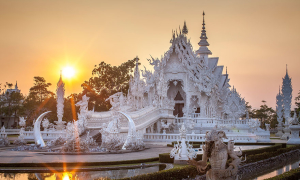 Ngôi đền trắng kỳ dị nhất thế giới