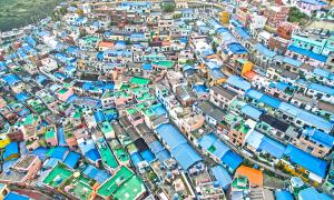 Khu ổ chuột thành điểm 'sống ảo' nổi tiếng xứ Hàn