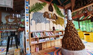 Quán cà phê cho khách đổi rác lấy đồ uống ở Campuchia