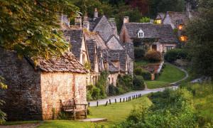Ngôi làng được in hình trên hộ chiếu