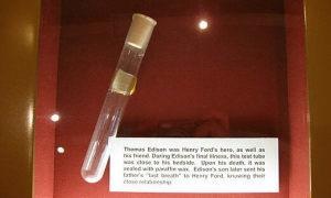 Hơi thở cuối cùng của Edison trong bảo tàng