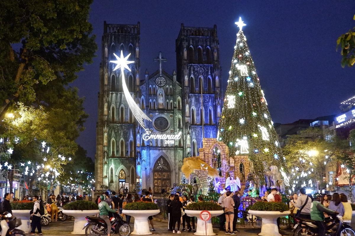 Các nhà thờ ở Hà Nội trước Giáng sinh - VnExpress Du lịch