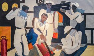 Trưng bày 56 tác phẩm nghệ thuật về quân đội Việt Nam