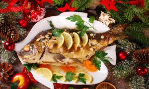 Đêm Giáng sinh ăn cá chép ở châu Âu