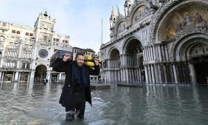 Venice thiệt hại hơn một tỷ USD vì triều cường