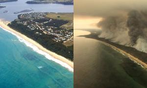 Australia trước và trong vụ cháy