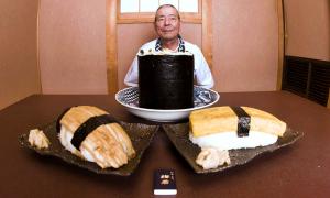 Miếng sushi khổng lồ 5kg