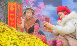 Hội xuân, lễ hội khèn hoa tại Sun World Fansipan Legend