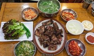 Quán sườn bò nướng 83 năm ở Seoul