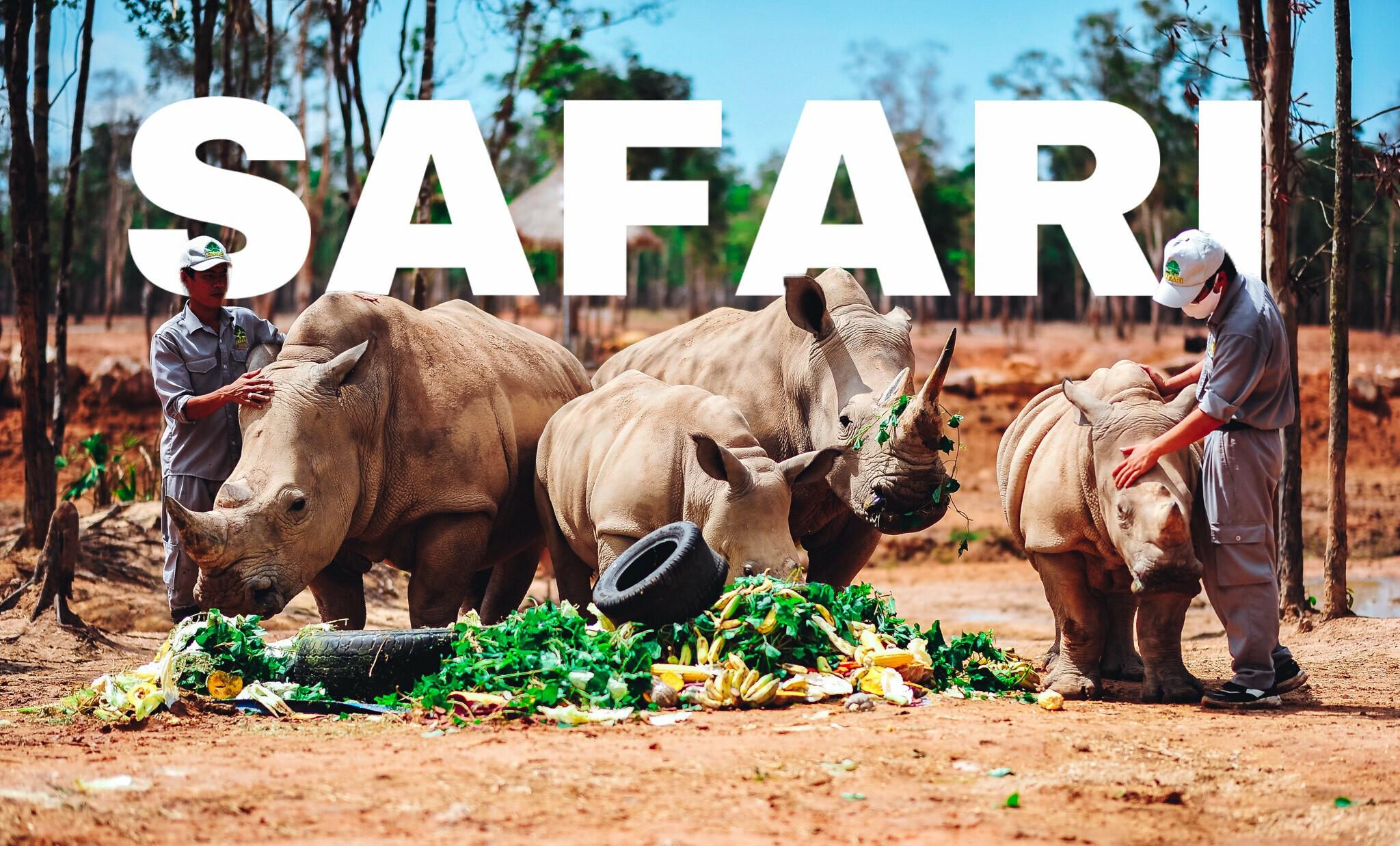 Vườn thú safari ở Việt Nam nổi tiếng