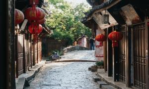 Đại Nghiên cổ trấn trong mắt khách Việt