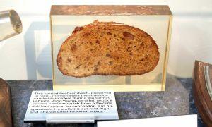 Số phận chiếc sandwich phi hành gia lén mang vào vũ trụ