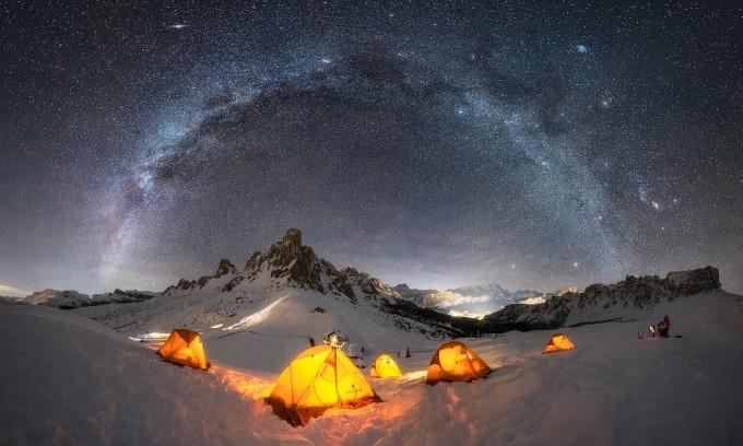 Bộ ảnh dải ngân hà đẹp nhất thế giới