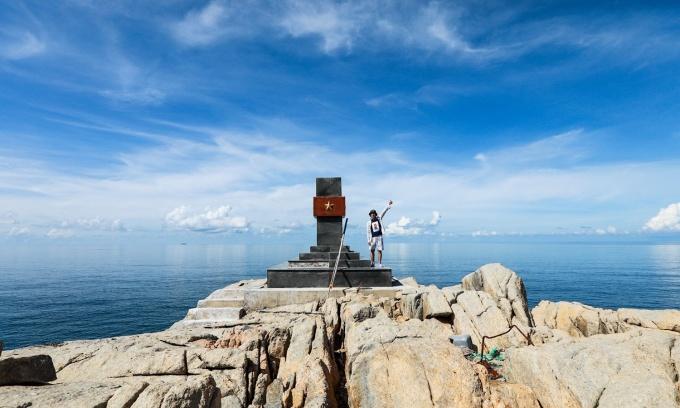 Chinh phục 3 điểm đánh dấu lãnh hải Việt Nam