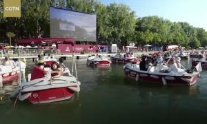 Rạp chiếu phim giữa sông Seine thời Covid-19