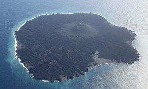 Hòn đảo tự 'ăn' chính mình