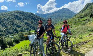 Khám phá thung lũng Mường Hoa bằng xe đạp