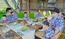 Bên trong villa Đỗ Mạnh Cường cùng 6 con nghỉ dưỡng