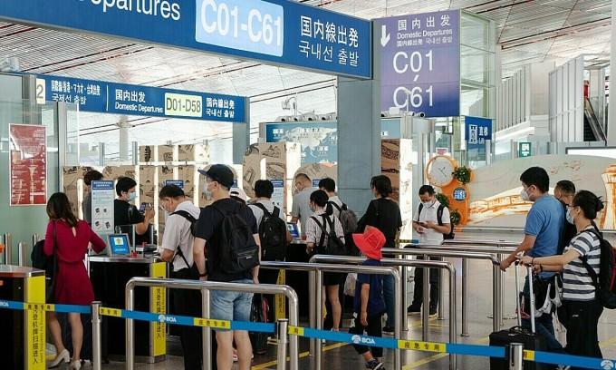 Hàng không Trung Quốc đón lượng khách khổng lồ trong Tuần lễ vàng