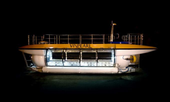 Thí điểm tàu lặn du lịch tại vịnh Nha Trang