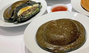 Burger 'đĩa bay' ở Sài Gòn