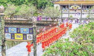 Lễ đổi gác của triều Nguyễn xưa