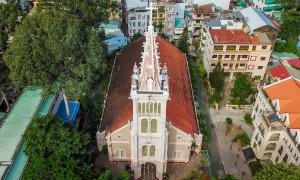 7 nhà thờ trăm tuổi ở Sài Gòn