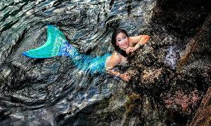Trải nghiệm hoang dã cùng 'nàng tiên cá' ở Sơn Trà