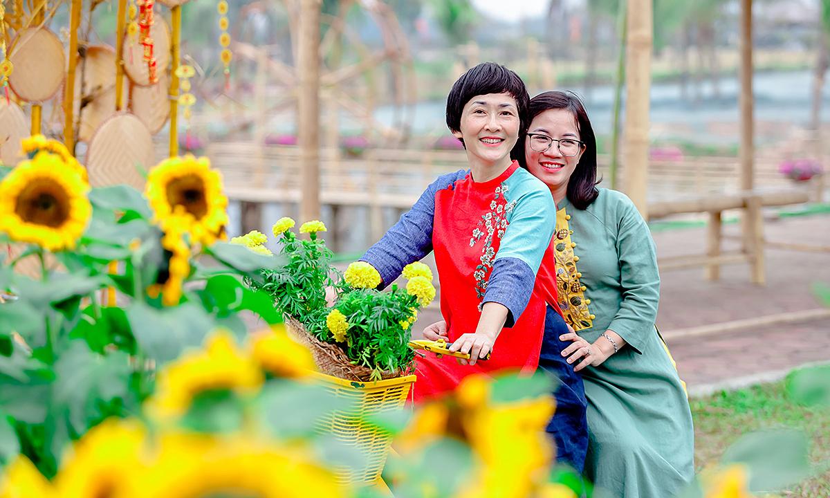 Đường hoa Home Hanoi Xuân: Đẹp và an toàn Tết Tân Sửu