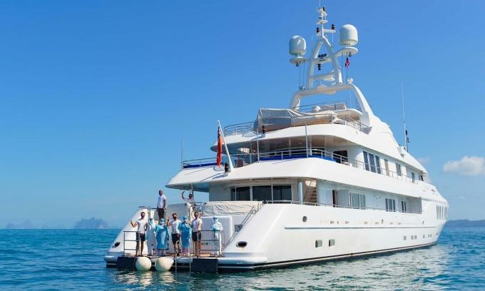 Thái Lan cho du khách cách ly trên du thuyền