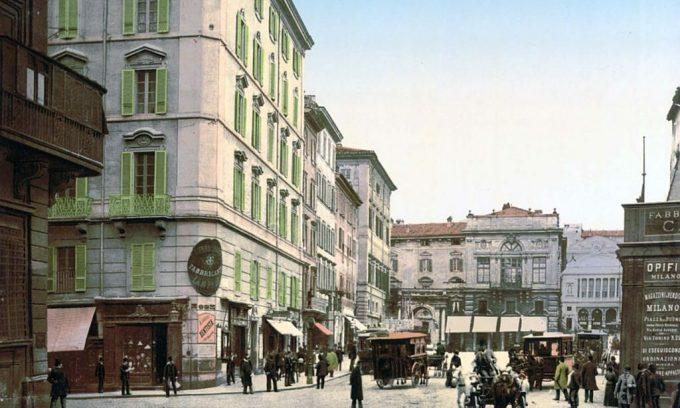 Rome những năm 1890 qua ảnh phục chế