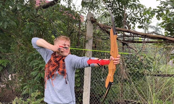 Cuối tuần bắn cung ở ngoại ô Hà Nội