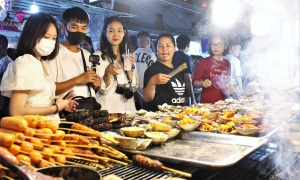 Thiên đường ẩm thực trong chợ đêm lớn nhất Phú Quốc