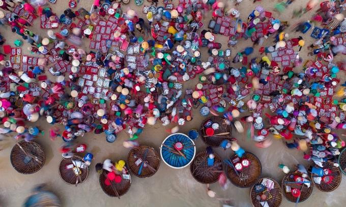 Chợ cá nhộn nhịp nhất Quảng Nam